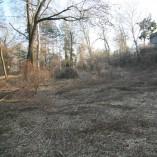 Budování Toušeňské zahrady - Mrzne až praští